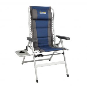 Cascade Deluxe 8 position recliner with table